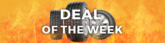 Deal of the Week Sale at PriorityTireOutlet.com