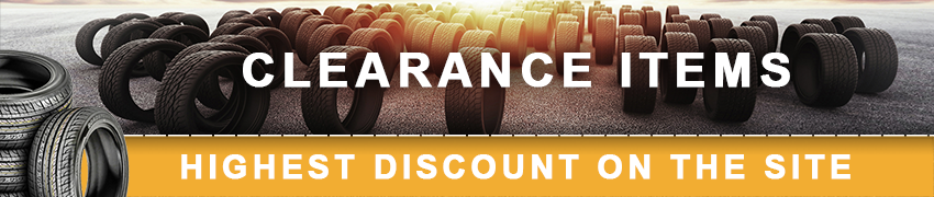 Clearance Tire Sale