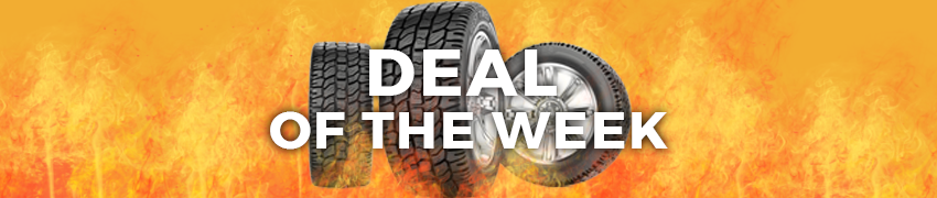 Deal of the Week Tire Sale